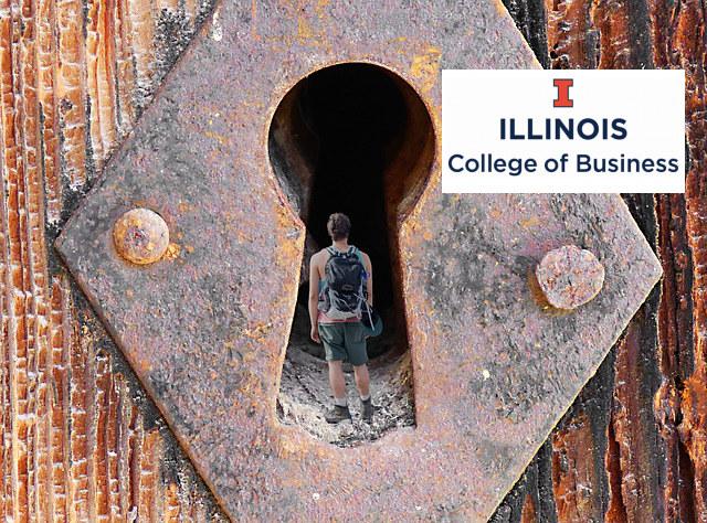 iMBA_UIUC_student_keyhole_lock
